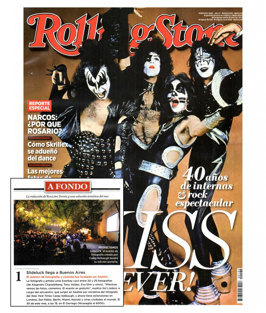 Rolling Stone Argentina May 2014