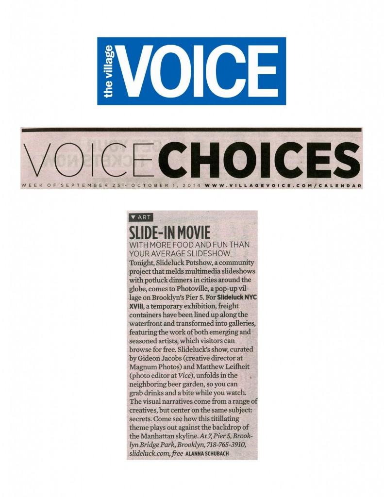 Village Voice 9.25.14