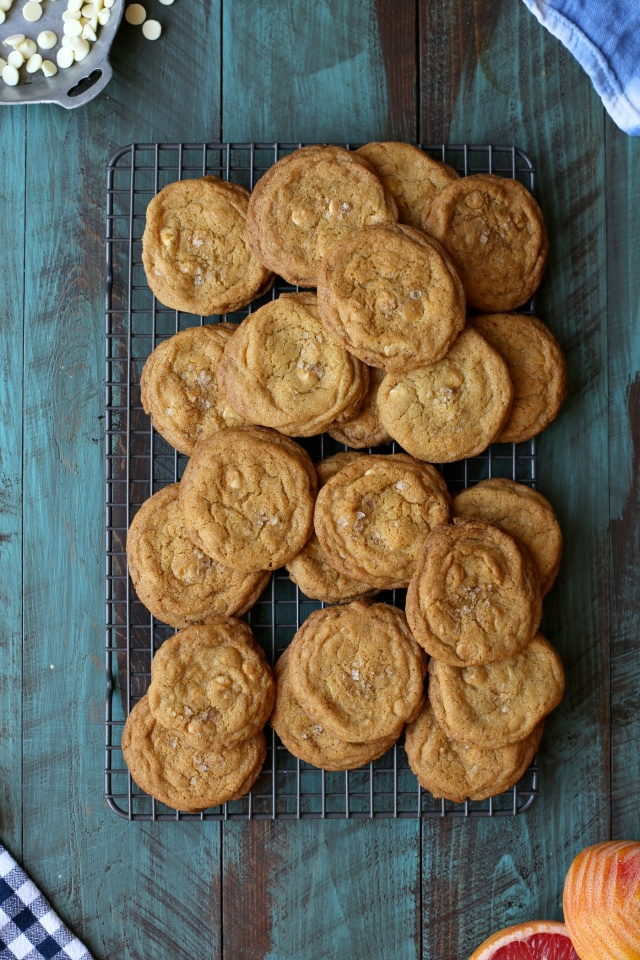 Joy the Baker's Grapefruit White Chocolate Brown Butter Cookies