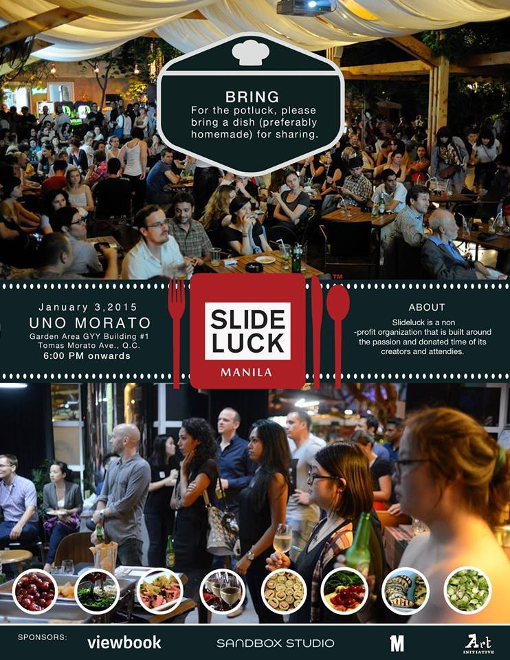Slideluck Manila poster