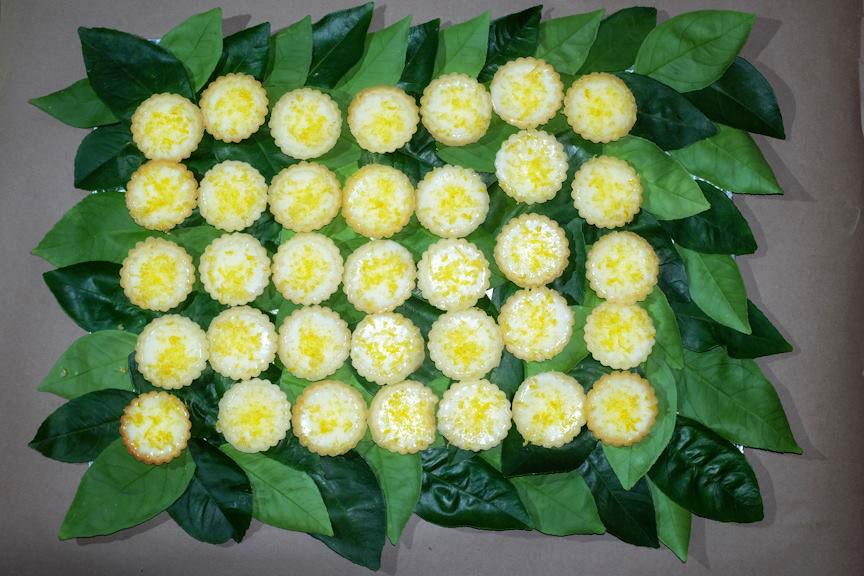 Karen Gillingham's Lemon Posset Slideluck LA VII