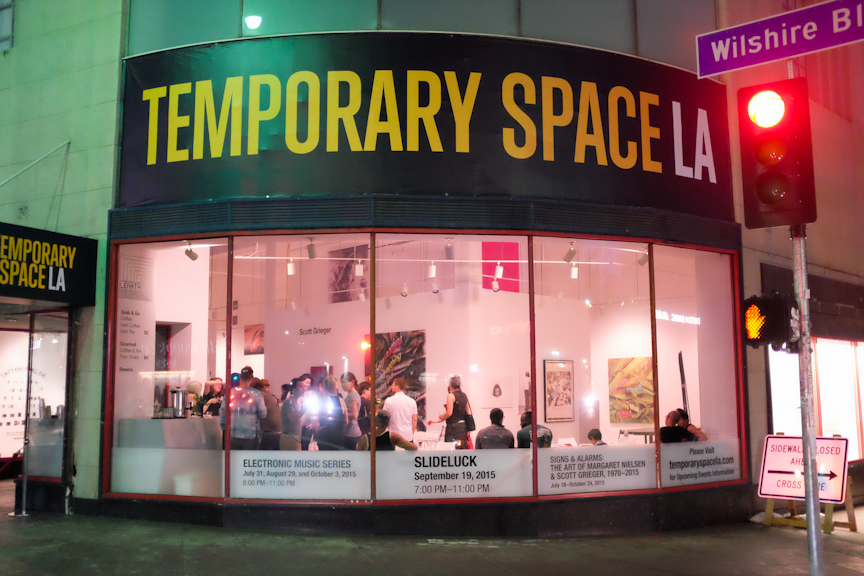 SLIDELUCK LA VIII took place on Saturday, September 19, 2015 at Temporary Space on Wilshire in Los Angeles.