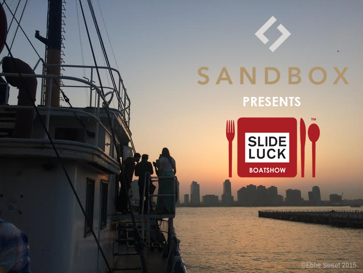 sandbox presents slideluck boatshow