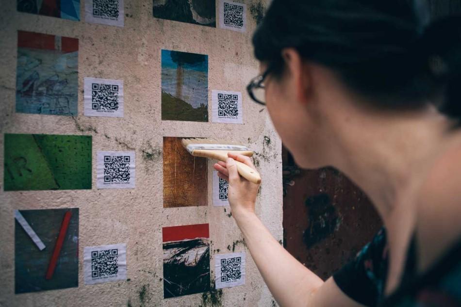 Micro Galleries - photo by Teresa Schebiella